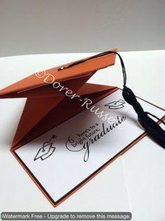Graduation Card Gift Holder