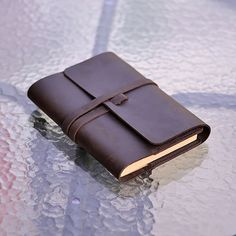 Classic Leather Journal Refillable Handmade with Strap Pen Loop Blank and Lined…