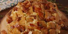 Maple Bacon Brie Bread