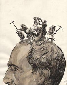 Greg Ruth, Mind Reader Comic Art