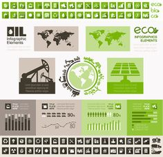 Environment Infographic Vector Template.