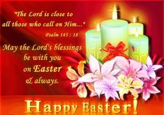 May the Lord's blessings be with you on Easter and always easter easter bunny happy easter easter comments easter gifs easter blessings easter graphics easter greetings Happy Easter Gif, Happy Easter Quotes, Happy Easter Wishes, Happy Easter Sunday, Happy Easter Greetings, Sunday Wishes, Inspirational Easter Messages, Easter Greetings Messages, Greetings Images