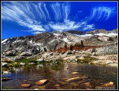 20 Lakes Basin - easy high sierra backpack loop, good fishing.