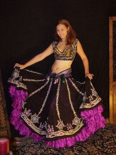 We3 Belly Dance Tribal Gypsy Faire Nirvana 3 Piece Costume Special Order | eBay