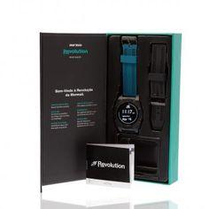 c3f826156d784 Smartwatch Masculino Mormaii Revolution Digital MOSRAB 8P Preto