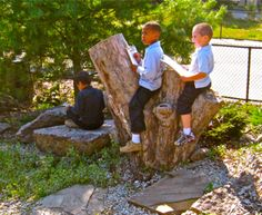 Outdoor Classroom built by recycled materials