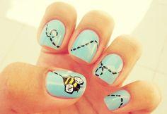 Bee fingernails Bee fingernails