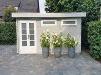 Blokhut/Tuinhuis Hillegom 520x320 cm 44 mm-20