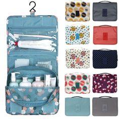 Honana BX-111 Waterproof Tidy Wash Cosmetic Bag Compact Makeup Storage Bag Case Bathroom Mesh Organizer