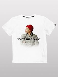 I am the boss :) Style Hip Hop, Be The Boss, Skate Wear, Tee Shirts, Tees, Dress Codes, Street Wear, Mens Tops, Urban Apparel