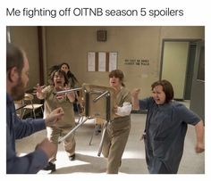 "133 Likes, 2 Comments - Orange Is The New Black (@oitnb.memes) on Instagram: ""GET AWAY FROM ME"""