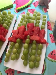 Watermelon themed first birthday - food idea 1st Birthday Foods, Watermelon Birthday Parties, 1st Birthday Party For Girls, Fruit Birthday, First Birthday Themes, First Birthday Decorations, Baby First Birthday, First Birthdays, Birthday Food Ideas For Kids