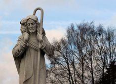 Imagen católica: pastor, oveja,reba�o,cristo - Cathopic