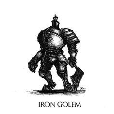 Dark Souls - Iron Golem by Skinrarb