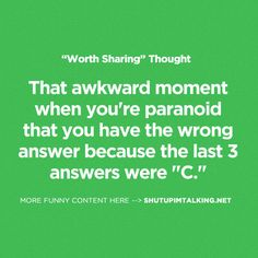 There's Something Wrong http://www.ShutUpImTalking.com