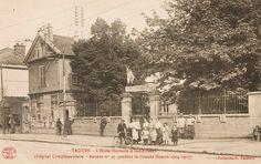 L'Ecole normale d'instituteurs, rue Kleber, accueille l'hôpital complémentaire n°4 (75 lits)