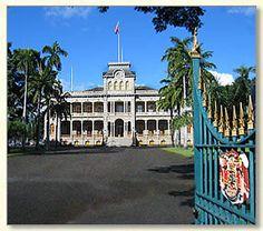 Oahu: Iolani Palace guided tour 11:15am, free with Go Oahu card - Fri Dec 21