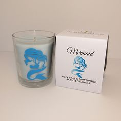 Homemade Scented Candles, Blue Gift, Blue Painting, Colour Board, Craft Business, Blue Design, Violets, Box Frames, Sell On Etsy