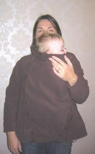 Ocah Weblog: Convert - a - Coat Free DIY Instructions. Baby wearing coat DIY