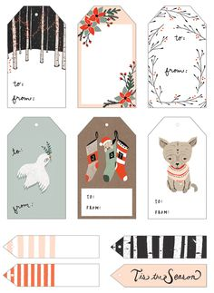 LOVELY HOLIDAY FREEBIES: PRINTABLES FROM AROUND THE WEB
