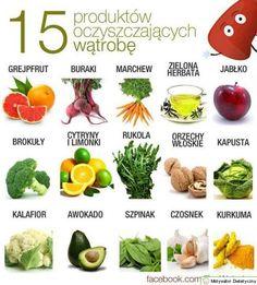 15 produktów odtruwających wątrobę