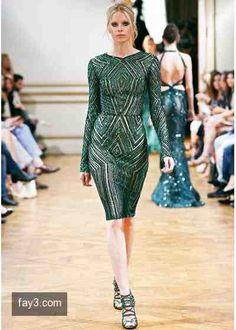 فستان من تصميم زهير مراد مجموعة هوت كوتور صورة 50