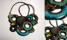 polymer&liquid...necklace...from Go with the flow to Crushed infinity