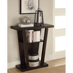 Console Table Hallway Entryway Sofa Accent Modern Display Living Furniture Home  #Coaster #Contemporary
