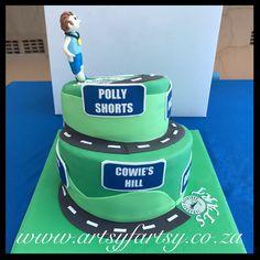 Comrades Marathon Up Run Cake Cupcake Cakes, Cupcakes, Sport Cakes, Marathon, Birthday Cake, Sports, Desserts, Food, Hs Sports