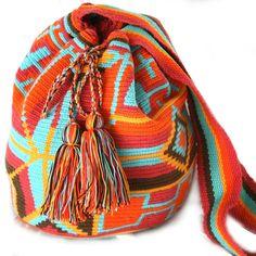 Fab.com | Sunset Wayuu Mochila Bag