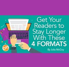Take these four content formats for a spin and keep readers on your pages longer – Content Marketing Institute Email Marketing, Content Marketing, Social Media Marketing, Relationship Marketing, Marketing Institute, Growth Hacking, Competitor Analysis, Influencer Marketing, Long A