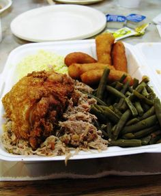 loves Parkers restaurant in North Carolina, where real bbq is made ~ Eastern North Carolina style~~