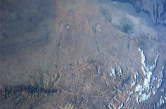 Northern Afghanistan.  Taken August 4, 2013.  KN from space.