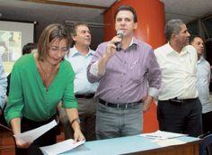 Marinho inicia da regularização fundiária no Jardim Ipê IV