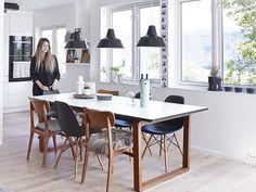 Bilderesultat for bolia Tromso, Home Furniture, Modern Furniture, Informal Dining Rooms, Living Place, Relax, Scandinavian Kitchen, Modern Kitchen Design, Dining Room Design