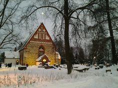Pyhan Laurin Kirkko (medieval stone church) - Vantaa, Finland