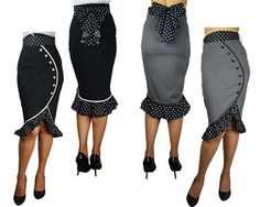 Super cute! MUST search through my patterns - gotta be in thre somewhere! Rockabilly skirt