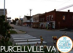 Purcellville, VA: The Safest City in Virginia - yay for my hometown! Loudoun County Virginia, Virginia Is For Lovers, Live Today, Local Events, Northern Virginia, Local History, Commonwealth, Where The Heart Is, Delaware