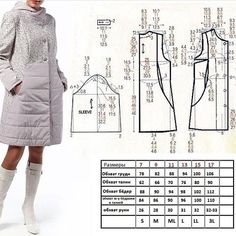 Coat Patterns, Dress Sewing Patterns, Clothing Patterns, Fashion Sewing, Diy Fashion, Sewing Alterations, Fashion Vocabulary, Make Your Own Clothes, Shirt Refashion