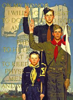 Norman Rockwell  | #artist #painting #design