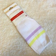Lululemon Keep it Tight Socks Lululemon Keep it Tight Socks designed for a tight fit to support circulation and recovery. Size M/L 8-10 I love these socks and use daily! lululemon athletica Other