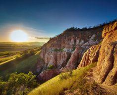 Micul Canion de România: Râpa Roşie