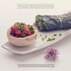 Veggie Comida Deliciosa: Wraps de couve recheados com pasta de caju e beterraba - receita crudívora
