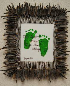 Creative Handprint & Footprint art ideas