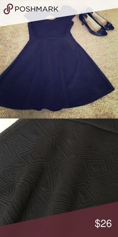 Black summer dress Cute to wear anywhere, thick material but breezy and light on Dresses Mini