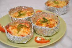 Filet de pui surprins coapte în folie 0 Fresh Rolls, Baked Potato, Potatoes, Baking, Ethnic Recipes, Madness, Potato, Bakken, Backen