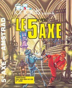Loriciel : Le 5eme Axe  1985  Amstrad CPC