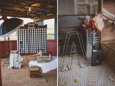 This rustic #wedding photo booth is so cute! From http://greenweddingshoes.com/canadian-barn-wedding-amy-david/  Photo Credit: http://blog.ameris.ca/
