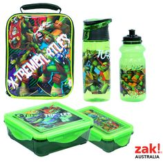 Back To School On The Go Snap Sandwich Container Tmnt