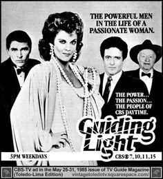 1985 - Guiding Light soap opera
